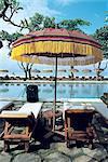 Indonesia, Bali, Kuta beach, Oberoi swimming pool