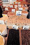 Turquie, Istanbul, épices au marché égyptien