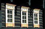 Finland, Carelia, Nurmes, Bomba hotel, traditional house
