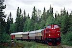 Sweden, Lapland, Wilderness express