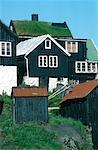 Denmark, Faroe Islands, Tòrshavn, Tinganes district