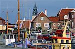 Denmark, Jutland, Skagen, the harbour