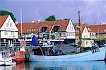Denmark, Bornholm, Svaneke harbour
