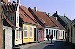 Danemark, island Aero, rue d'Århus