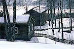 Norvège, Lillehammer, Maihaugen Musée en plein air