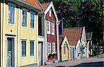 Sweden, Dalecarlia, Nusnäs, traditional figurines