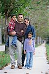 Portrati de famille en plein air