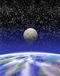 Au fil de terre de lune
