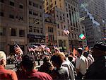 People Watching Parade New York City, New York, USA