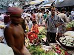 Légumes marché Calcutta, Inde
