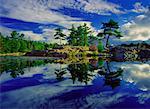 Scenic from Killarney Provincial Park, Ontario, Canada
