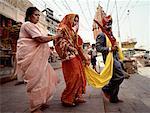 Traditional Bride and Groom Varanasi, India