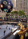 Glace au Rockefeller Plaza New York, New York, USA