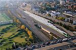 Go Trains and Traffic Toronto, Ontario, Canada