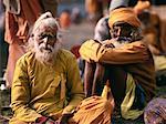 Indian Pilgrims at Festival Calcutta India