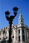 Building and Lamppost Havana Cuba