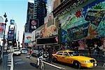 Traffic on Times Square New York City, New York USA