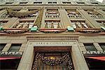 Magasin Saks Fifth Avenue à Noël New York City, New York USA