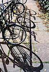 Bicyclettes enfermés