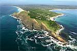 Vue aérienne du cap Byron Byron Bay Nouvelles Galles du Sud Australie
