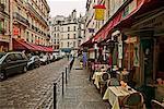 Sidewalk Cafe Latin Quarter Paris France