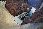 Hoover Dam en Arizona, États-Unis
