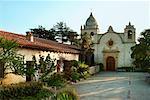 Carmel Mission basilique Carmel-By-The-Sea, Californie USA