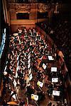 Orchestra in Pit Opera Garnier, Paris, France