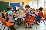 Children in Art Class
