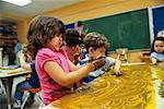 Kids Finger Painting