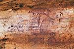 Le Parc National Nitmiluk autochtones Rock Painting territoire du Nord, Australie