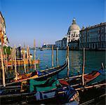 Grand Canal and Santa Maria Della Salute Venice, Italy