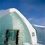 Eis-Gebäude