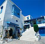 Maison et ayant pignon sur rue Sidi Bou dit, Tunisie, Afrique