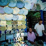 Souvenir Shop Sidi Bou Zid, Tunesien, Afrika