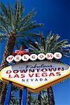 Bienvenue signe Las Vegas, Nevada, USA