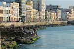 Le Malecon de la Havane, Cuba