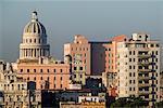 Skyline et El Capitolio la Havane, Cuba