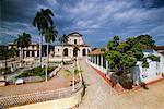 Iglesia Santisima de Trinidad and Palacio Brunet, Trinidad de Cuba, Cuba