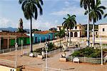 Plaza Mayor Trinidad de Cuba, Cuba