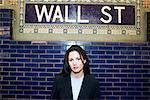 Portrait of Woman New York City, New York USA