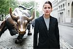 Portrait of Businesswoman New York City, New York USA