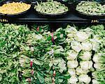 Section légume à l'épicerie