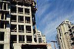 Building Under Construction, Vancouver, British Columbia, Canada