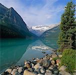 Lac Louise, Parc National Banff, Lake Louise, Alberta, Canada