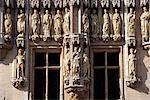 Carvings on City Hall, Grote Markt, Brussels, Belgium