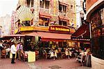 Sidewalk Cafe Brussels, Belgium