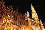 Exterior of City Hall, Grote Markt, Brussels, Belgium