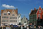 Sidewalk Cafe, Ghent, Belgium