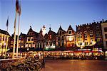 Place du marché, Brugge, Belgique